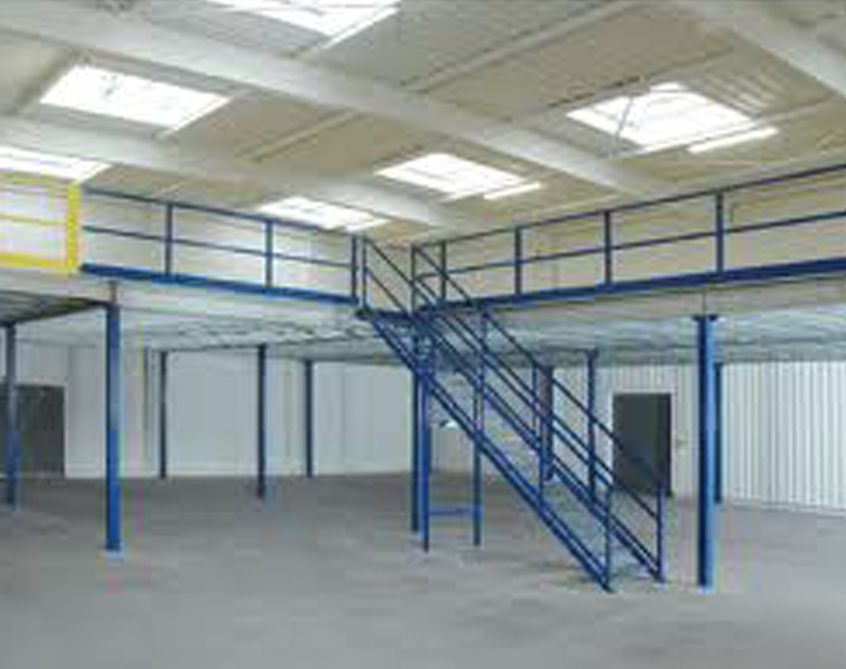 Modulaer Mezzanine Floor Shelving Slotted Angle Racks
