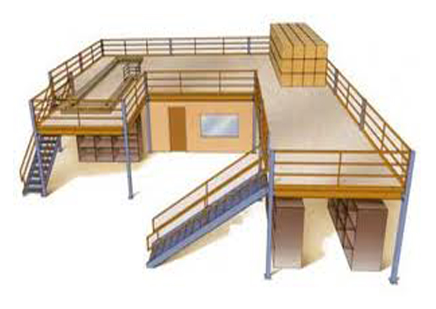 Slotted Angles Mezzanine Floor Shelving Slotted Angle