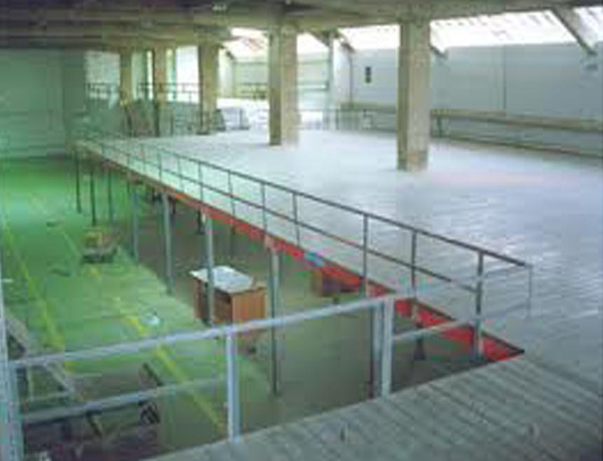 Modulaer mezzanine floor,Shelving,slotted angle racks