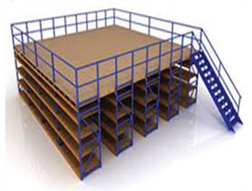 Slotted Angles Mezzanine Floor Shelving Slotted Angle